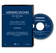 Mendelssohn: Der 42. Psalm. Carus Choir Coach.
