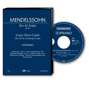 Mendelssohn: Der 42. Psalm. Carus Choir Coach.