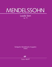 Felix Mendelssohn Bartholdy: Lauda Sion