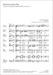Johann Sebastian Bach: Glory now give to God in heaven
