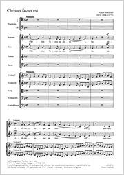 Anton Bruckner: Christus factus est