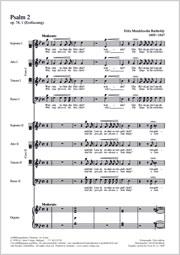 Felix Mendelssohn Bartholdy: Warum toben die Heiden