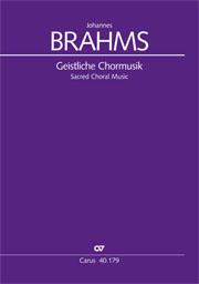 Brahms: Sacred Choral Music