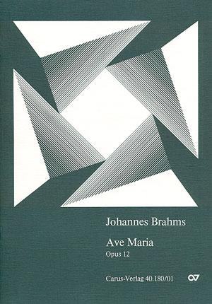 Johannes Brahms: Ave Maria