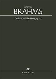 Johannes Brahms: Chant funéraire
