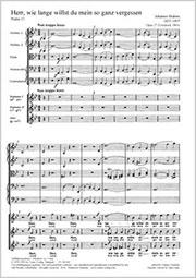Johannes Brahms: Der 13. Psalm