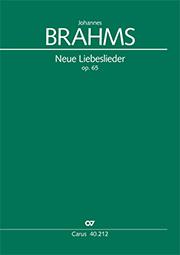 Brahms: Neue Liebeslieder-Walzer op. 65