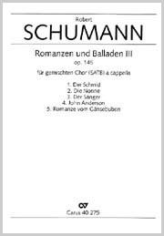 Schumann: Romanzen und Balladen III op. 145