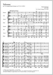 Robert Schumann: Talismane