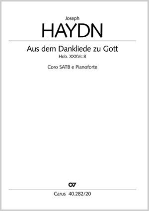 Joseph Haydn: Aus dem Dankeliede zu Gott