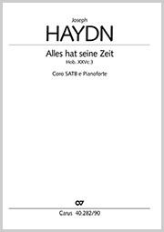 Joseph Haydn: Alles hat seine Zeit