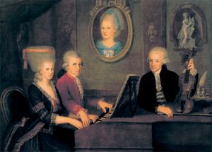 ohne: Familie Mozart