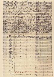 Johann Sebastian Bach: Matthäuspassion (Knabenchorstimme)