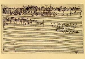 Johann Sebastian Bach: Die Kunst der Fuge