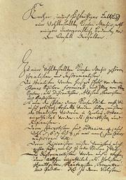 Johann Sebastian Bach: Eingabe an den Rat der Stadt Leipzig