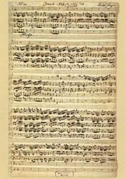 Christoph Graupner: Konzert für Blockflöte und Streicher in F