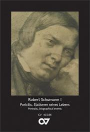 Schumann Postkartenserie I - Porträts, Stationen seines Lebens