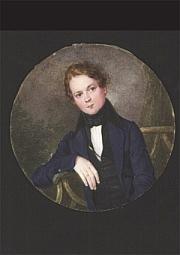 Anonymus: Robert Schumann. Jugendbildnis