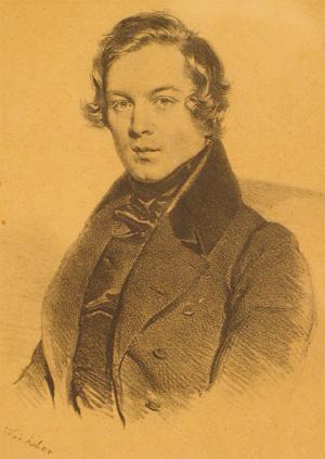 Joseph Kriehuber: Robert Schumann 1839