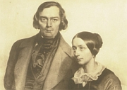 Eduard Kaiser: Robert und Clara Schumann 1847
