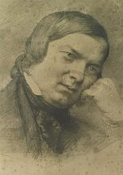Eduard Bendemann: Robert Schumann 1859