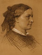Eduard Bendemann: Clara Schumann 1876