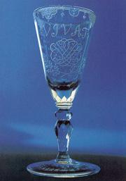 Johann Sebastian Bach: Bach-Pokal mit Bach-Monogramm