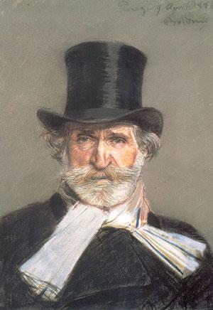 Giovanni Boldini: Giuseppe Verdi