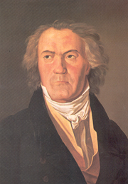 Ferdinand Waldmüller: Ludwig van Beethoven