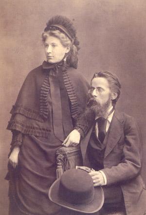 Heinrich von Herzogenberg: Heinrich von Herzogenberg und Ehefrau Elisabeth