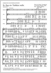 Drei Weihnachtschorsätze von Brahms, Distler und Kaminski