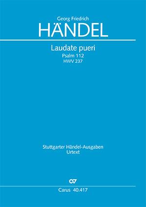 Georg Friedrich Händel: Laudate pueri