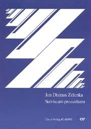Zelenka: Drei Vertonungen von Sub tuum praesidium