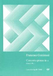 Francesco Geminiani: Concerto grosso in c