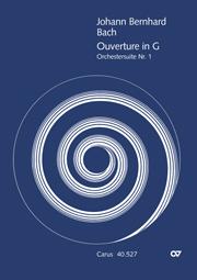 Johann Bernhard Bach: Suite pour orchestre n°1