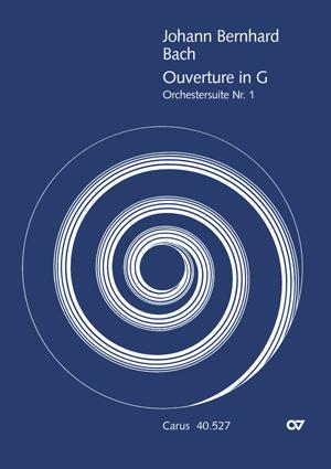 Johann Bernhard Bach: Orchestersuite Nr. 1