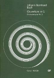 Johann Bernhard Bach: Suite pour orchestre n°2