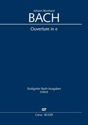 Johann Bernhard Bach: Suite pour orchestre n°3