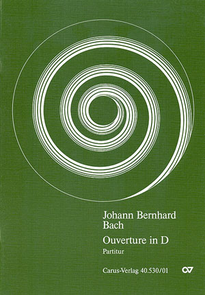 Johann Bernhard Bach: Orchestersuite Nr. 4