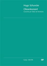Hugo Schuncke: Concerto per Oboe ed Orchestra in a