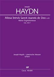 Joseph Haydn: Missa brevis Sti. Joannis de Deo / Kleine Orgelsolomesse