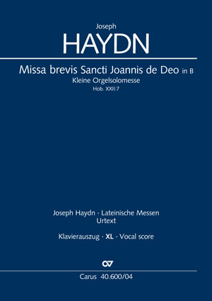 Joseph Haydn: Missa brevis Sancti Joannis de Deo / Kleine Orgelsolomesse