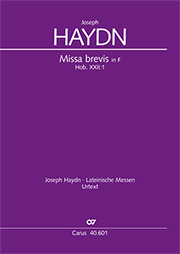 Joseph Haydn: Missa brevis in F major