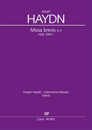 Joseph Haydn: Missa brevis en fa majeur
