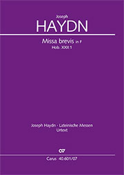Haydn: 3 Missae breves