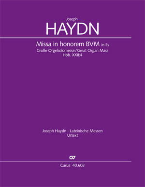 Joseph Haydn: Große Orgelsolomesse in Es