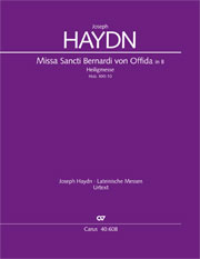 Joseph Haydn: Missa Sancti Bernardi von Offida in B