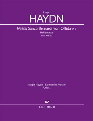 Joseph Haydn: Messe à Saint Bernard d'Offida en si bémol majeur