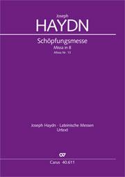 Joseph Haydn: Missa solemnis in B