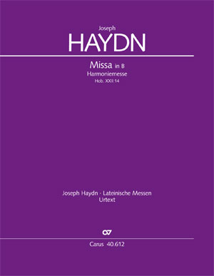 Joseph Haydn: Harmoniemesse in B